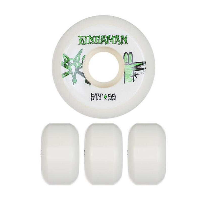 BONES WHEELS STF PRO BINGAMAN BURNEY WHEEL