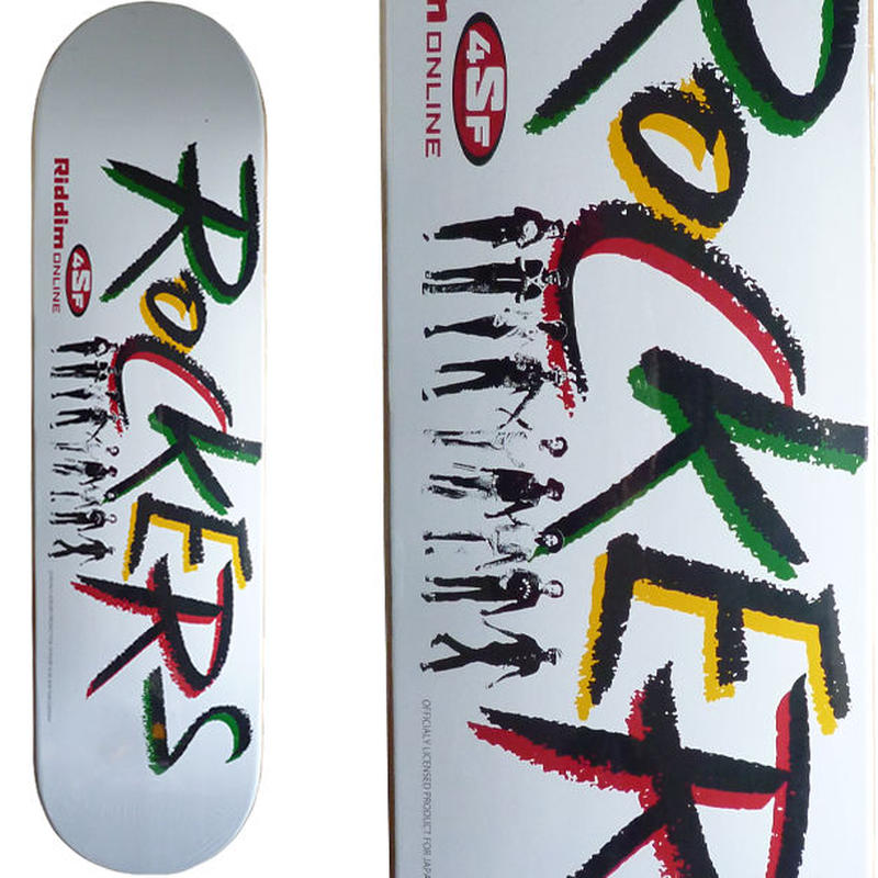 4SIGHT x ROCKERS DECK (8 x 31.5inch)