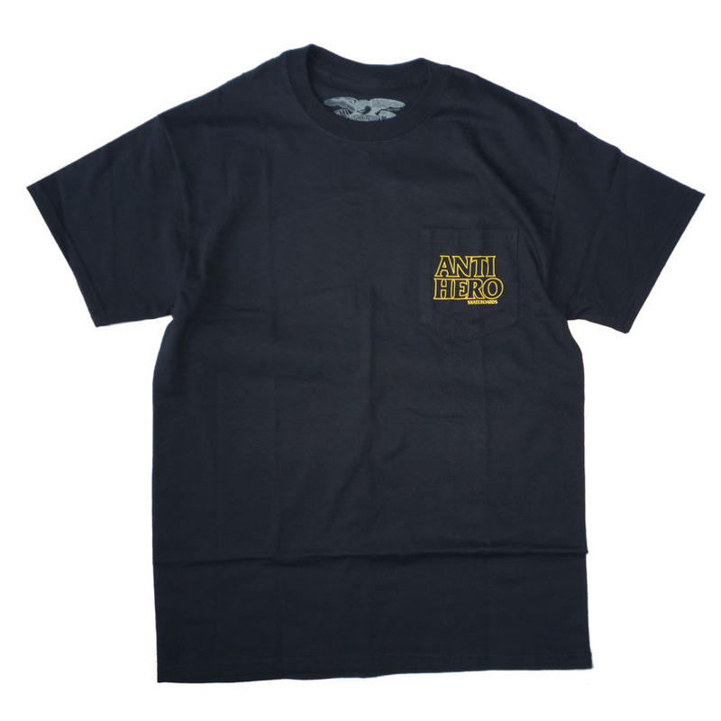 ANTI HERO OUTLINE HERO POCKET TEE