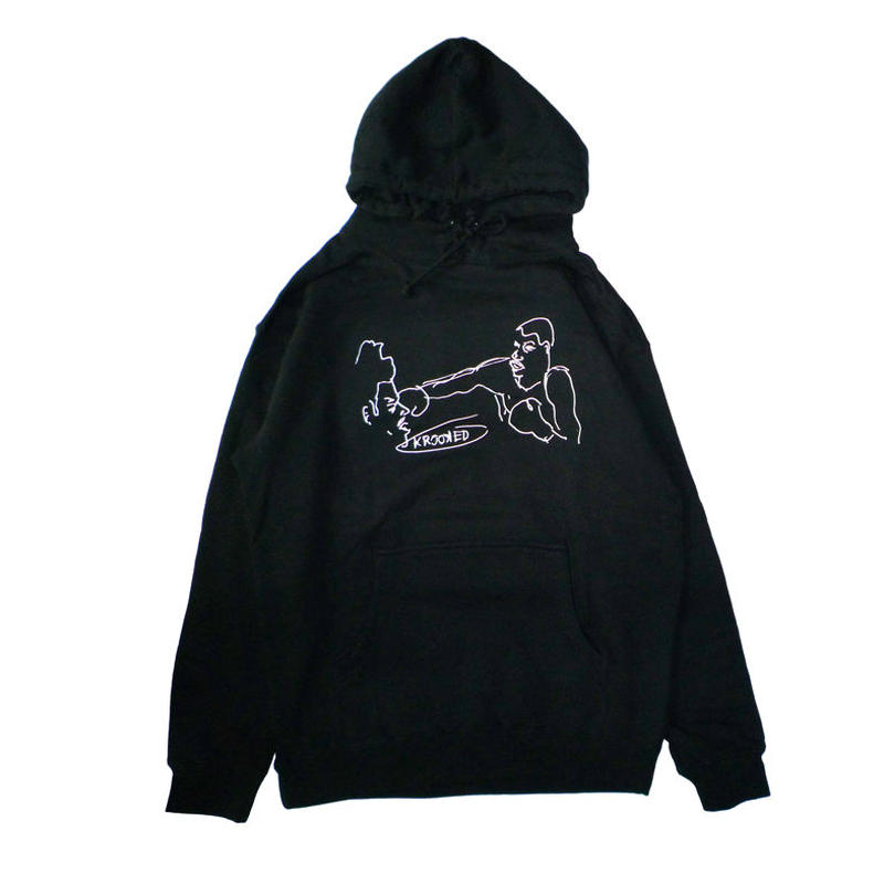 KROOKED BOX PULLOVER HOODIE