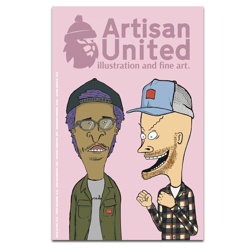 ARTISAN UNITED ZINE