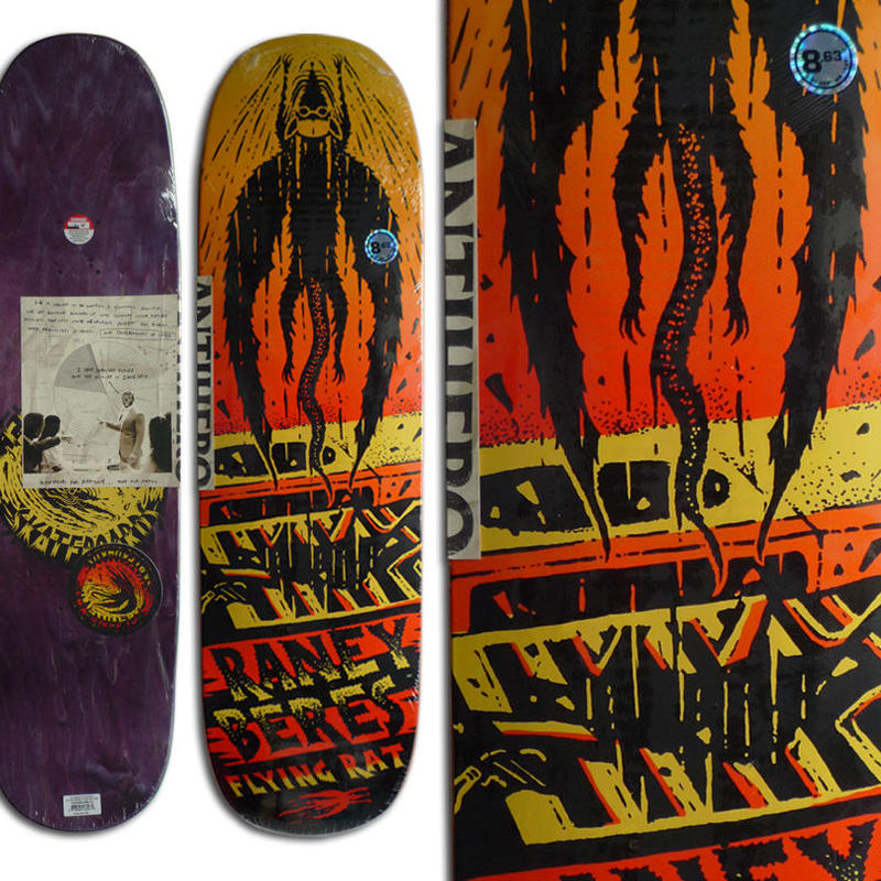 SALE! セール! ANTI HERO FLYING RAT RANEY BERES DECK  (8.63 x 32inch)