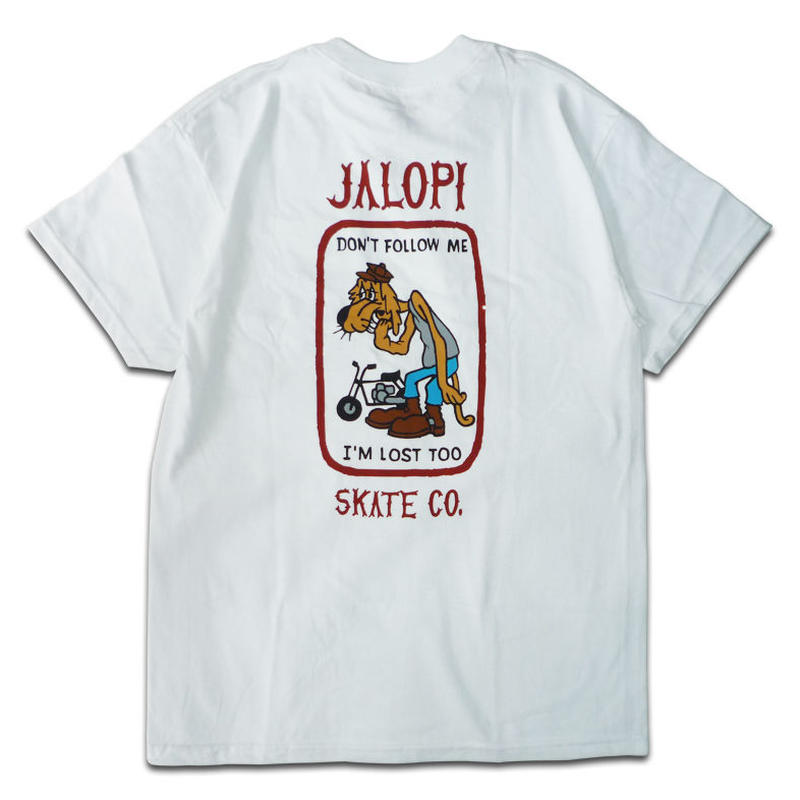 ANTI HERO JALOPI SKATE CO POCKET TEE