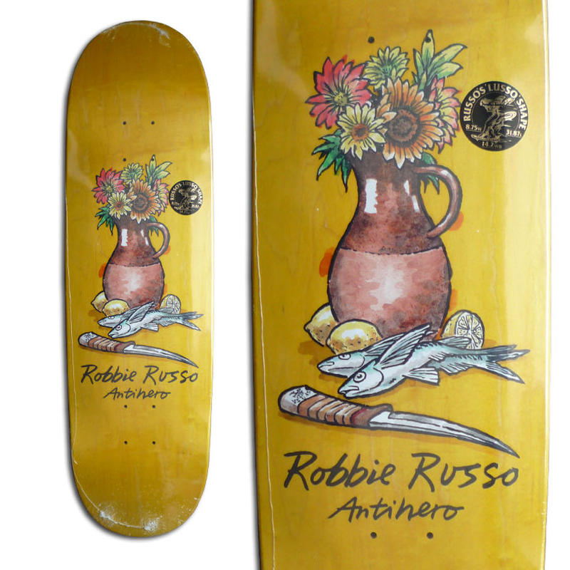 ANTI HERO ROBBIE RUSSO STILL LIFE DECK  (8.75 x 31.87inch)