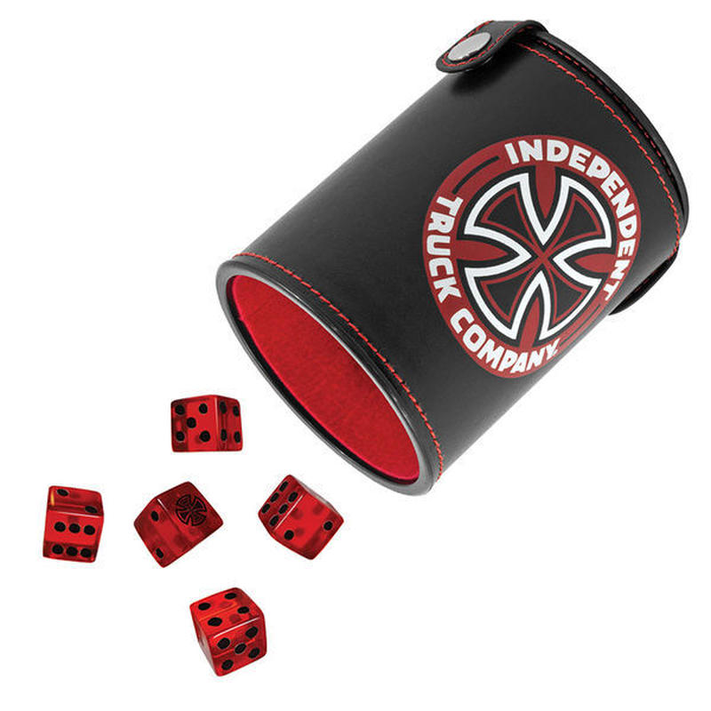 INDEPENDENT SHAKE'UM DICE SET