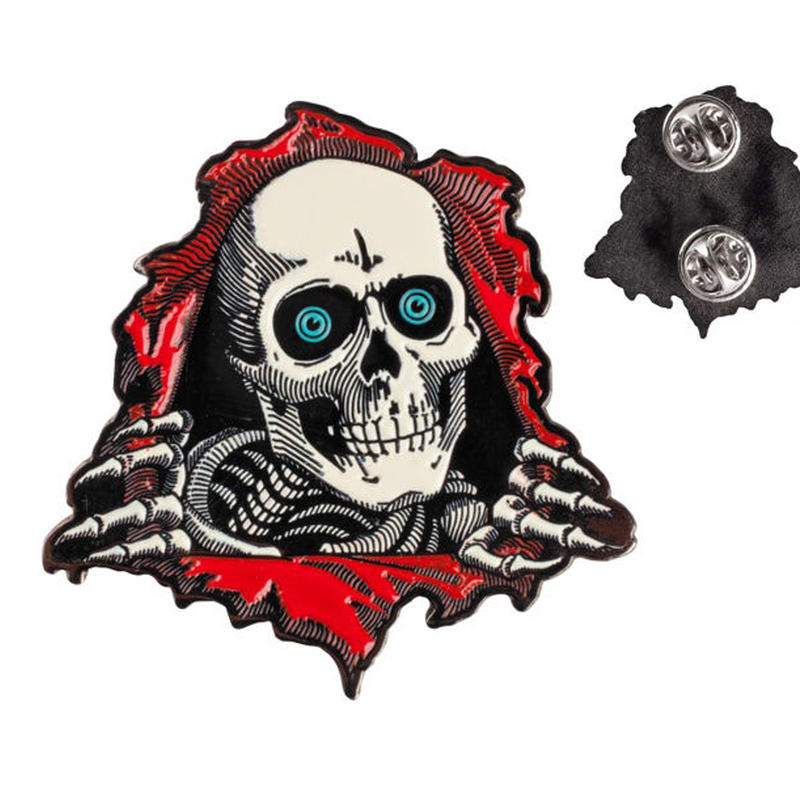 POWELL PERALTA  RIPPER LAPEL PINS