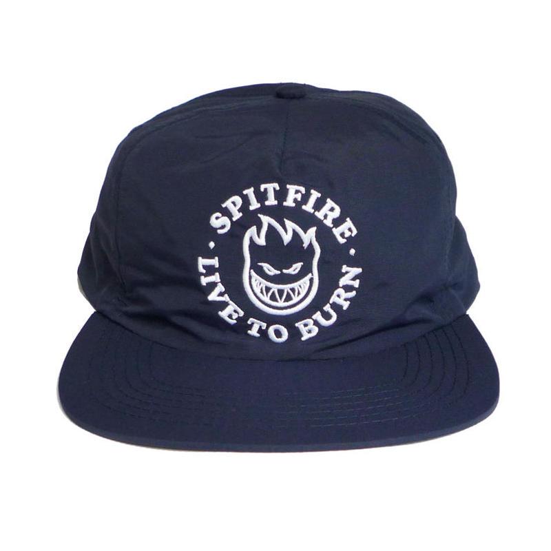 SPITFIRE LIVE TO BURN BIGHEAD SNAPBACK CAP