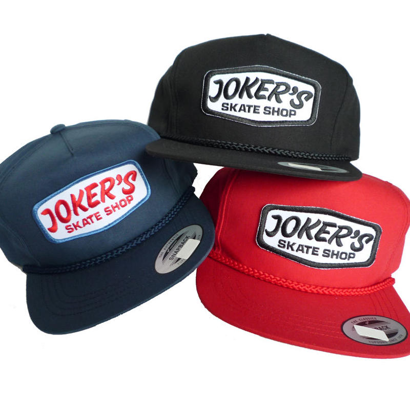 JOKERS CLASSIC LOGO PATCH ROPE CAP