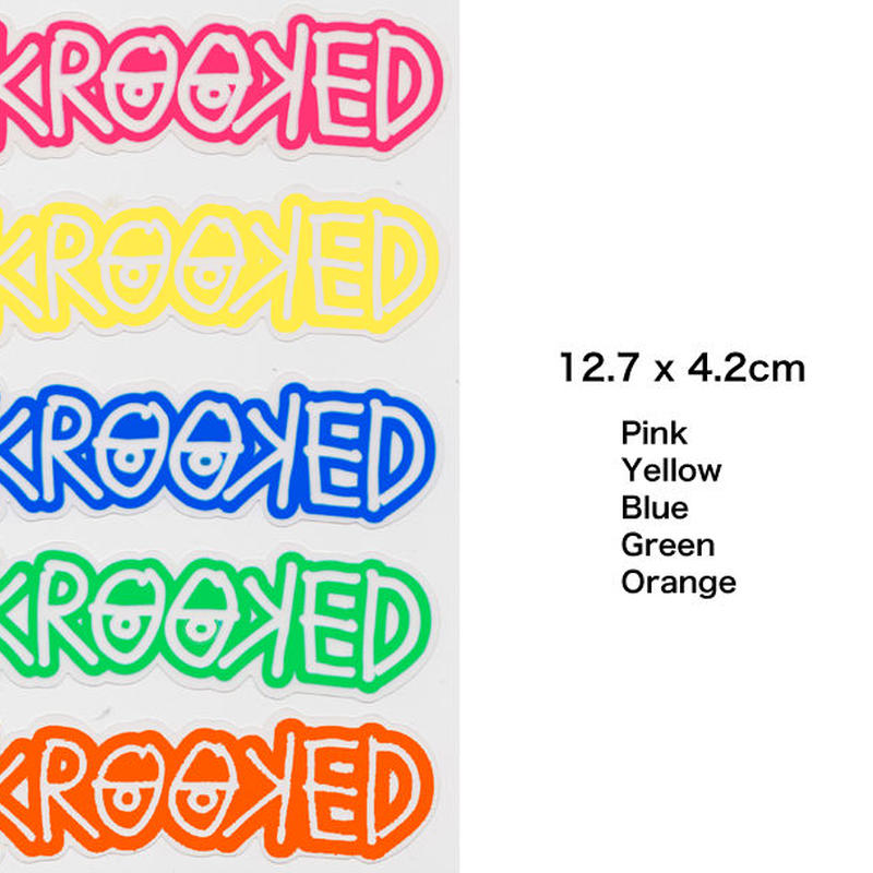 KROOKED  KROOKEYES STICKERS