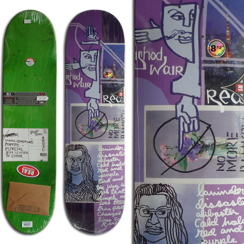 REAL ISHOD WAIR POSTCARD FROM MARK DECK   (8.12 x 32inch)