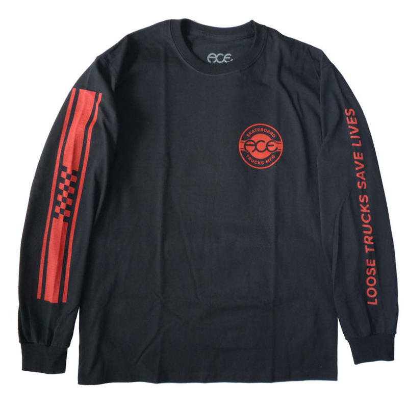 ACE TRUCKS RETRO JERSEY L/S TEE