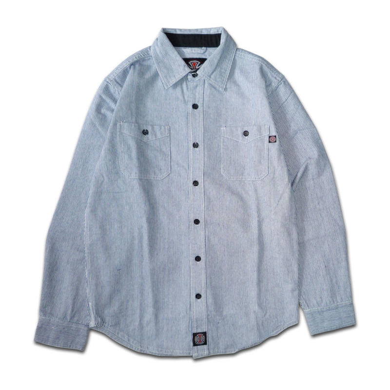 INDEPENDENT BLOCK BUTTON UP SHIRTS