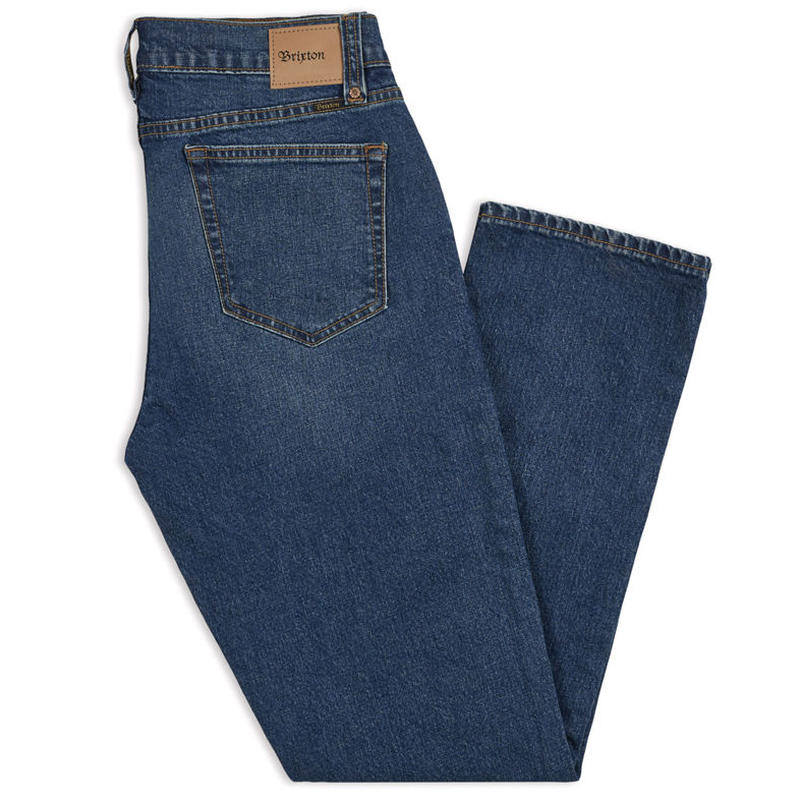 BRIXTON RESERVE 5 POCKET DENIM PANTS