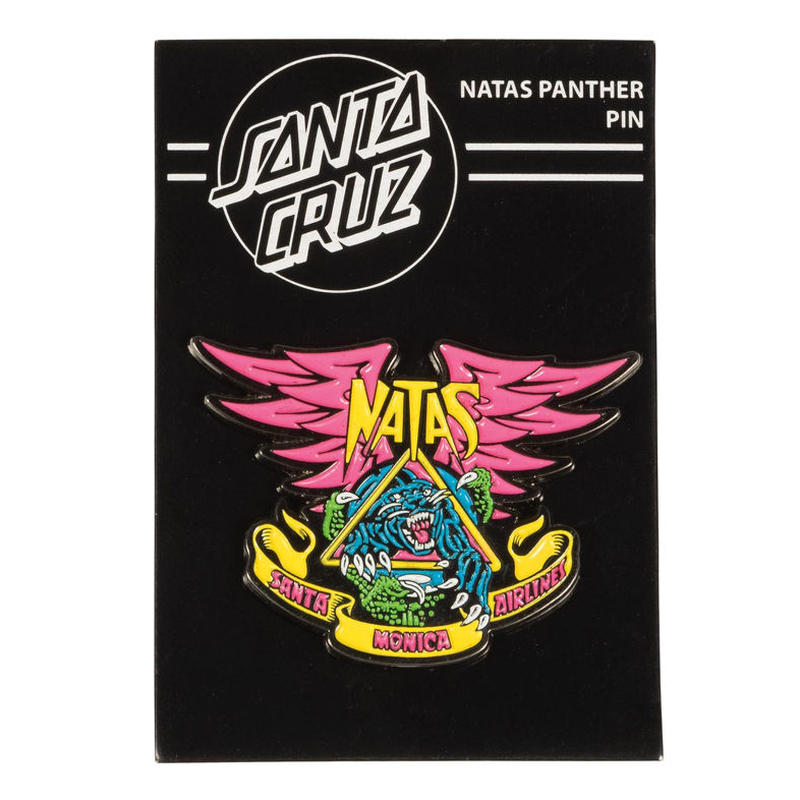 SANTA CRUZ NATAS PANTHER PUSH BACK PIN