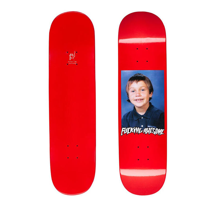 FUCKING AWESOME ELIJAH BERLE CLASS PHOTO DIPPED DECK  (8.25 x 32inch)