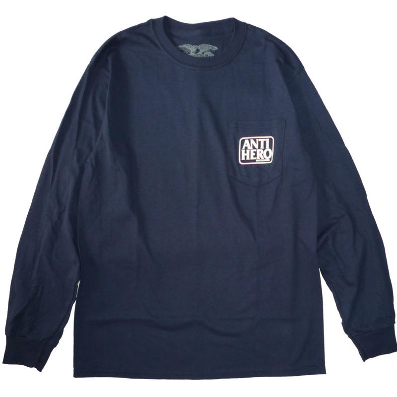 ANTI HERO RESERVE POCKET L/S TEE