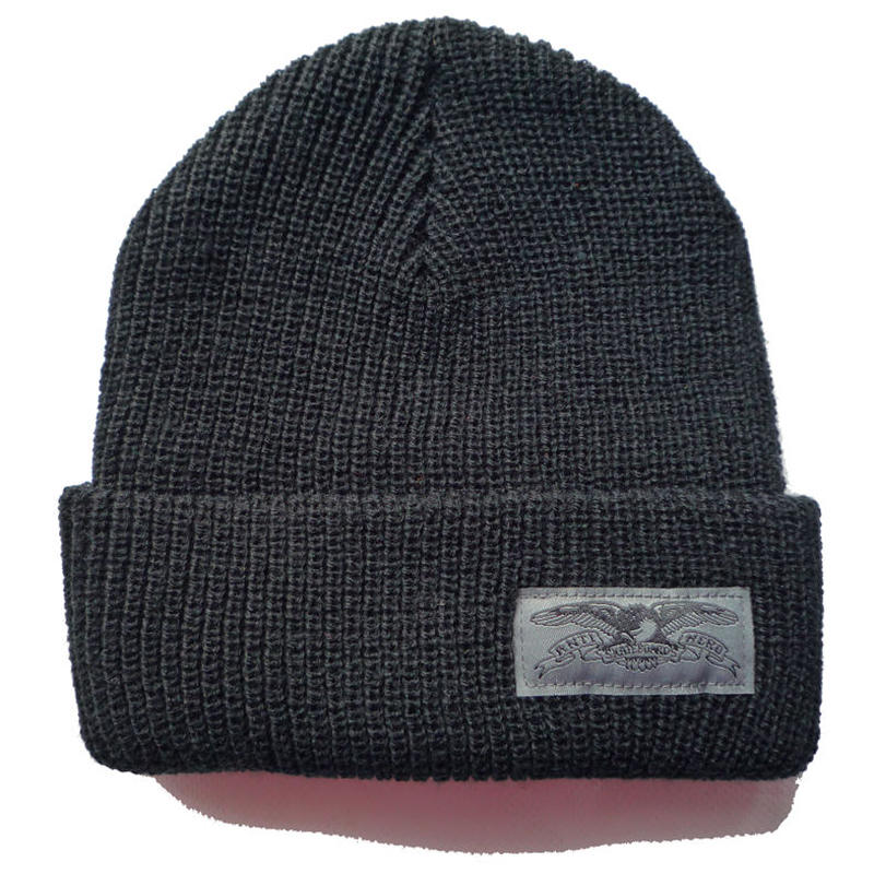 ANTI HERO BASIC EAGLE LABEL CUFF BEANIE