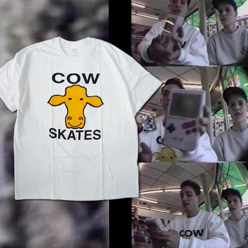 DEAR,  OHIO COLLECTION COW SKATES TEE