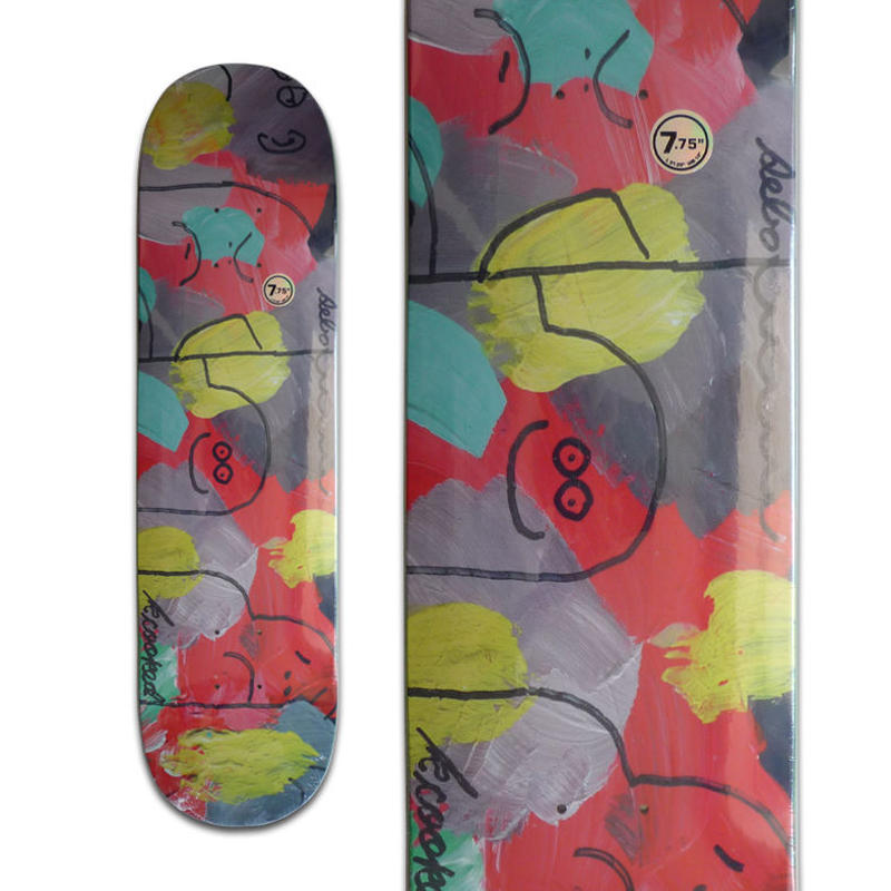 KROOKED SEBO WALKER POSSE DECK (7.75 x 31.25inch)