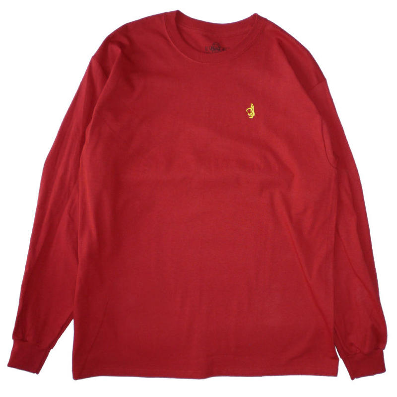 KROOKED SHMOLO EMBROIDERED L/S TEE