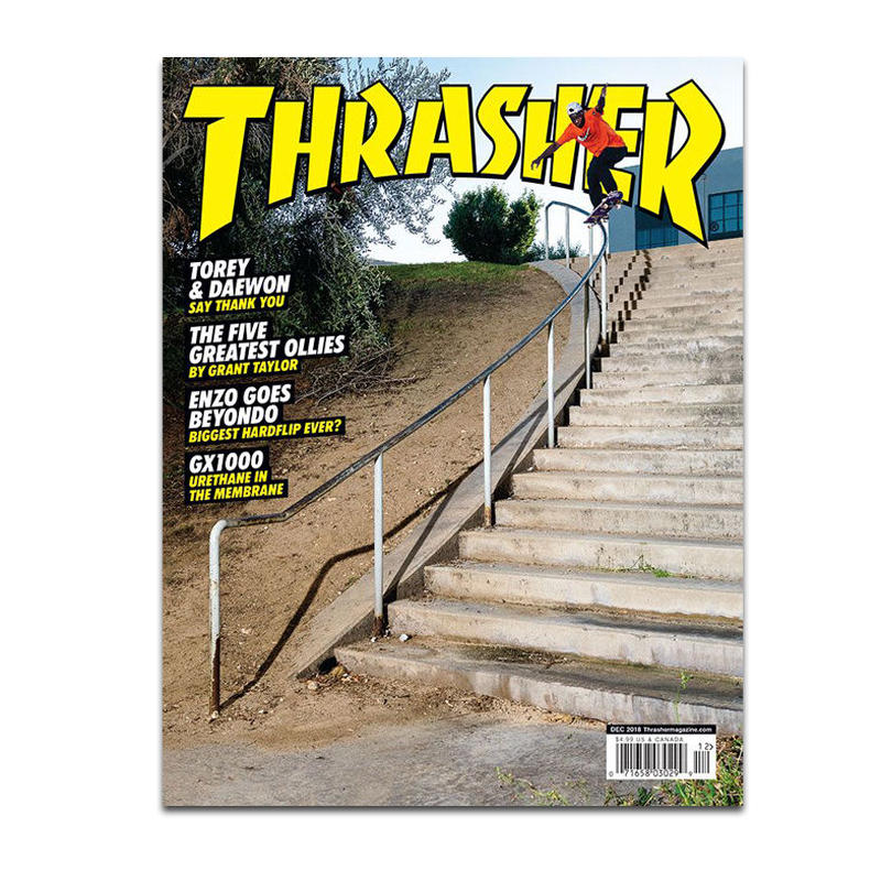 THRASHER MAGAZINE 2018 DEC ISSUE #461