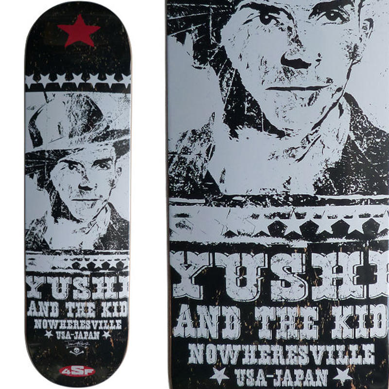 4SIGHT x LOST HIGHWAY(JASON ADAMS) YUSHI KOMURO DECK (7.75 x 31inch)