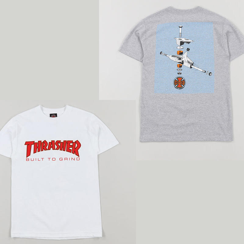 INDEPENDENT x THRASHER BTG TEE