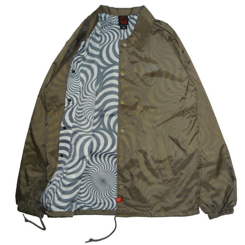 SPITFIRE OG CIRCLE SWIRL COACH JACKET