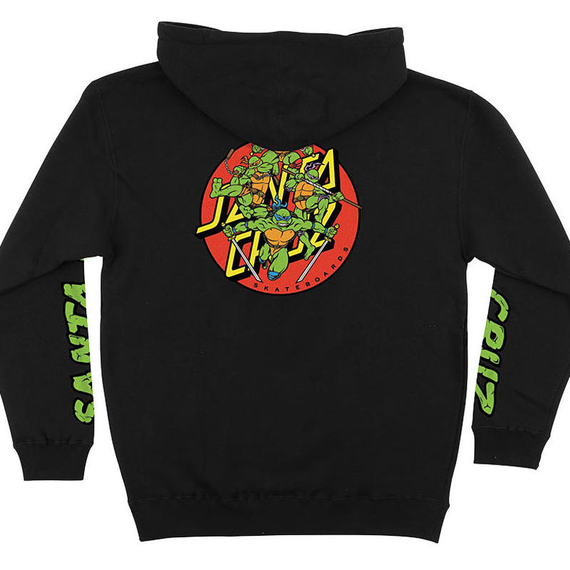 SANTA CRUZ x TMNT TURTLE POWER PULLOVER HOODIE
