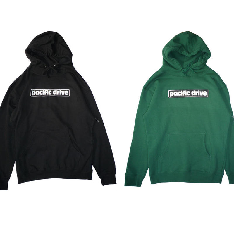 PACIFIC DRIVE BAR LOGO PULLOVER HOODIE