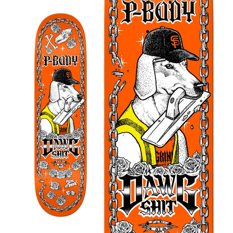 "ANTI HERO DAWG SHIT RYAN ""P-BODY"" MCWHIRTER PT.2 DECK  (8.5 x 32.5inch)"