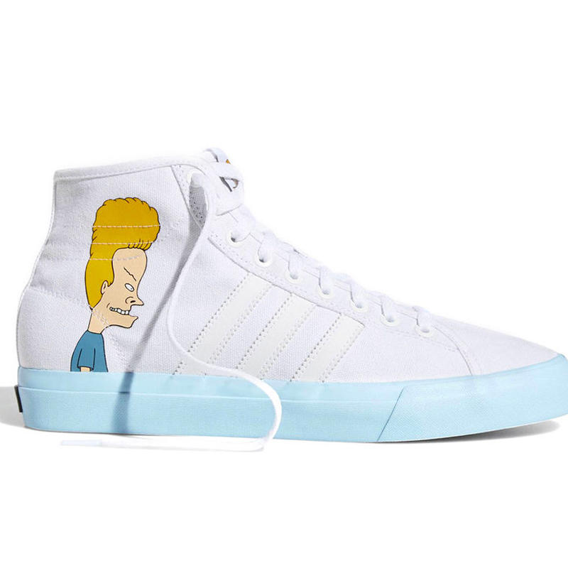 ADIDAS SKATEBOARDING MATCHCOURT HIGH RX  x BEAVIS & BUTTHEAD SHOES