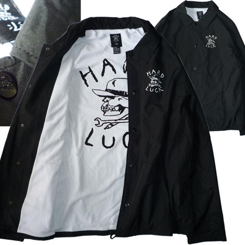 HARD LUCK  OG LOGO  COACHES JACKET