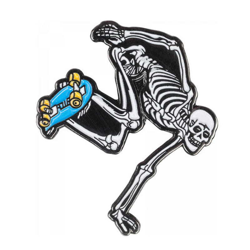 POWELL PERALTA SKELETON LAPEL PINS