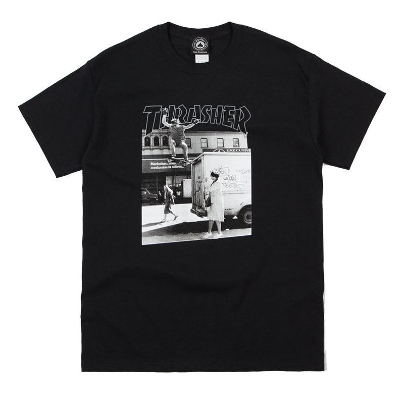THRASHER DAVE HACKETT PHOTO TEE