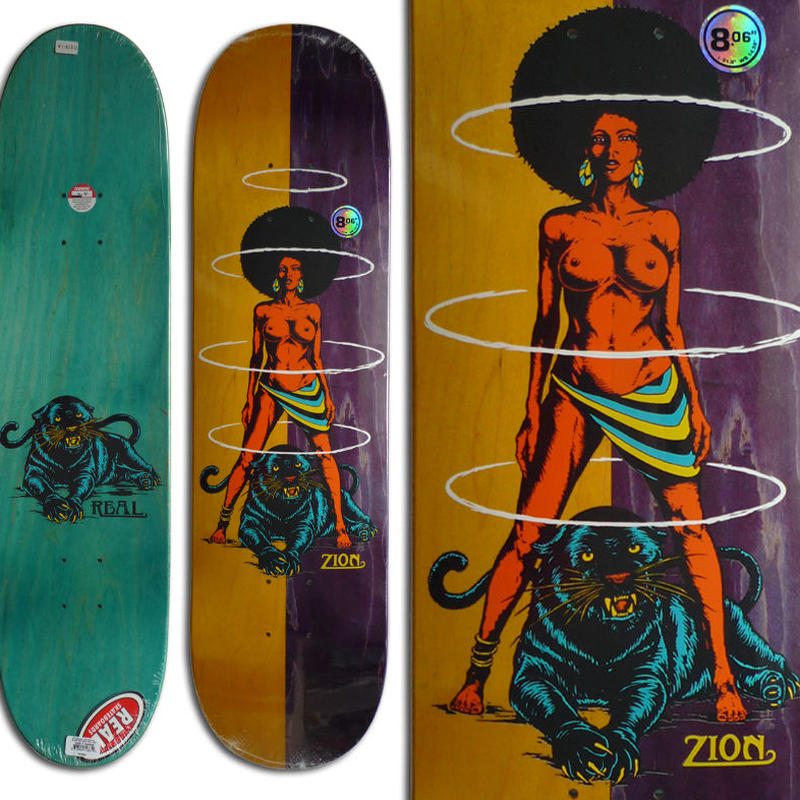 REAL ZION WRIGHT QUEEN DECK (8.06 x 31.8inch)