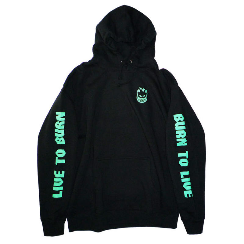 SPITFIRE LIVE TO BURN GLOW HOODIE