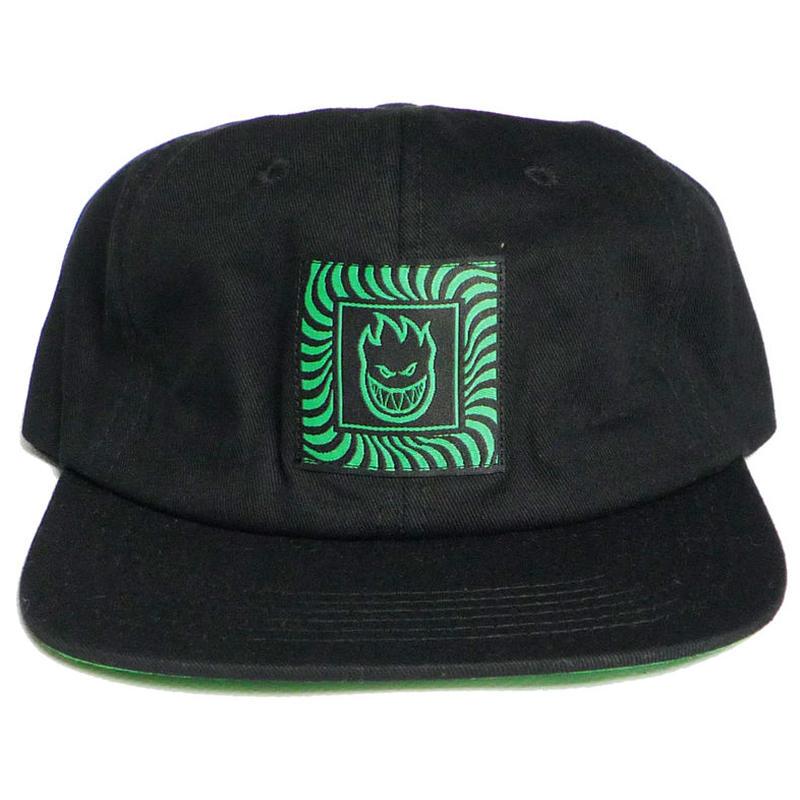 SPITFIRE BOX SWIRL PATCH STRAPBACK CAP
