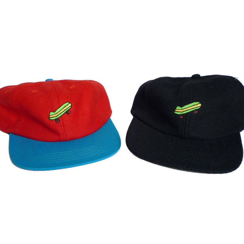BAKER SKATEBOARD EMBROIDERY CAP