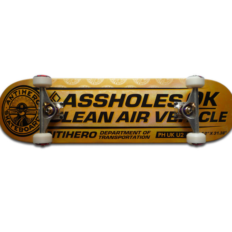 ANTI HERO CLEAN AIR PP COMPLETE SET  (8.12 x 31.38inch)