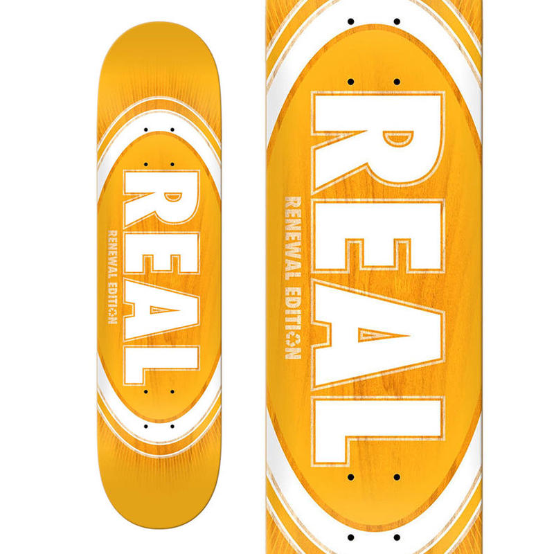REAL BURST FADE OVAL DECK   (8.06 x 31.8inch)