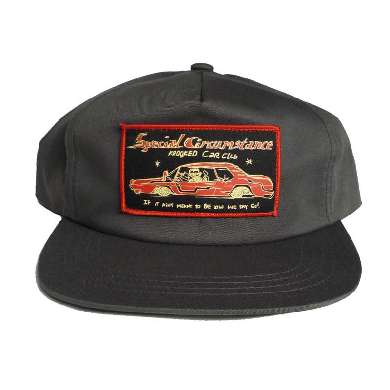 KROOKED CAR CLUB SNAPBACK CAP