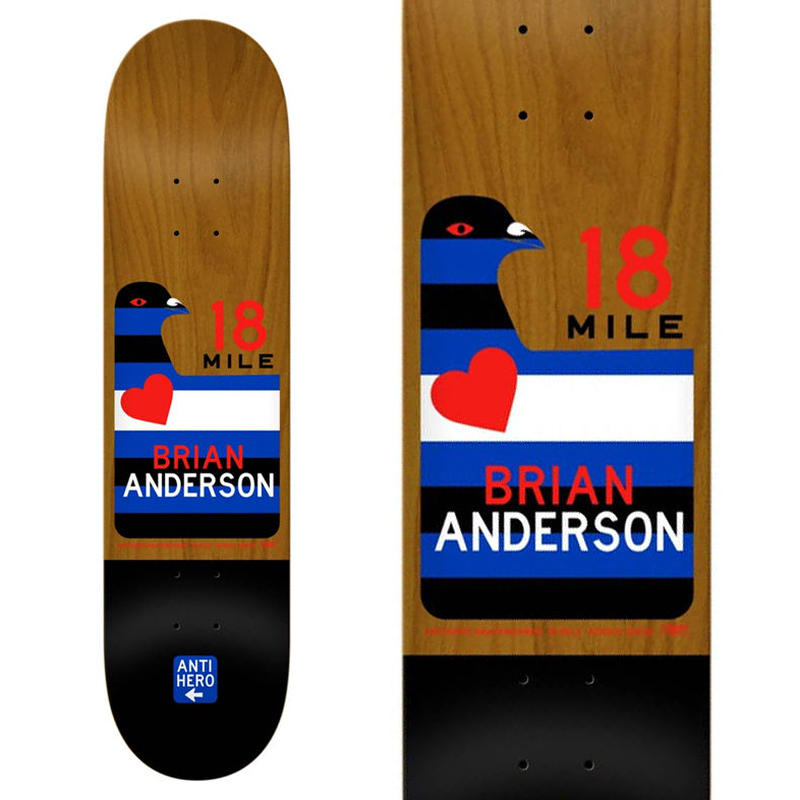 SALE! セール! ANTI HERO BRIAN ANDERSON SCENIC DRIVE DECK   (8.28 x 31.65inch)