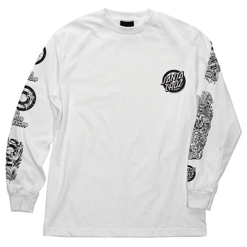 SANTA CRUZ ROB ROSKOPP EVOLUTION L/S TEE
