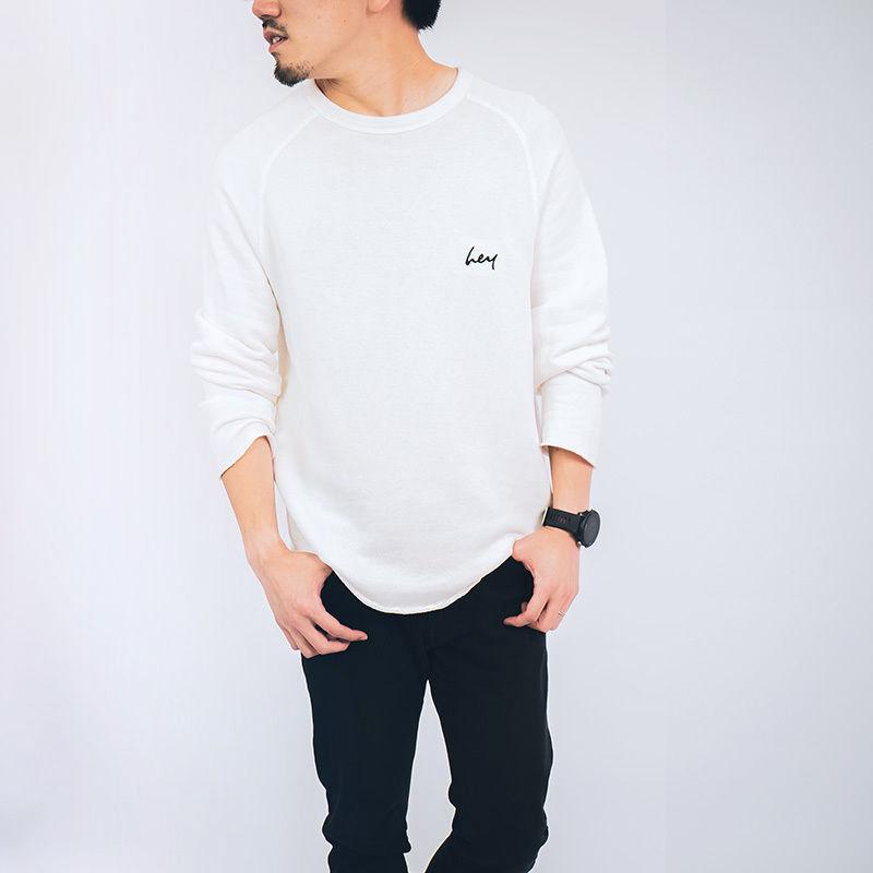 【ユニセックス】heyロングスリーブカットソー