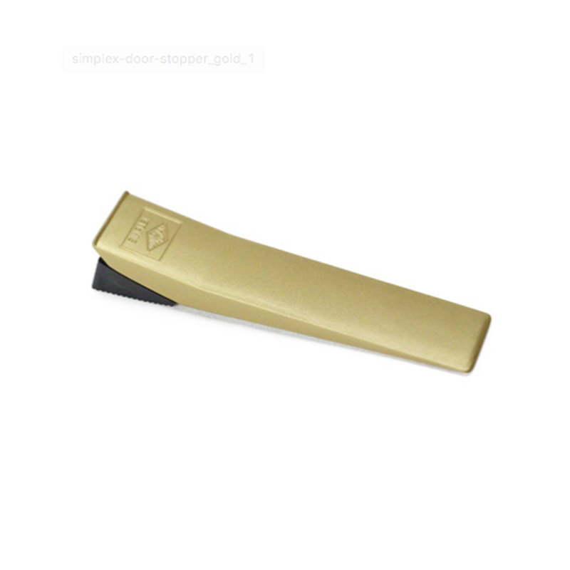 Simplex Door Stopper / Gold