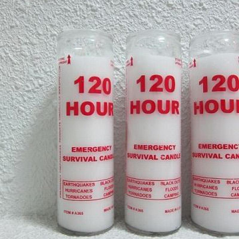 EMERGENCY SURVIVOR CANDLE
