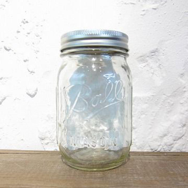 Ball Mason Jar /  Regular mouth / 16oz