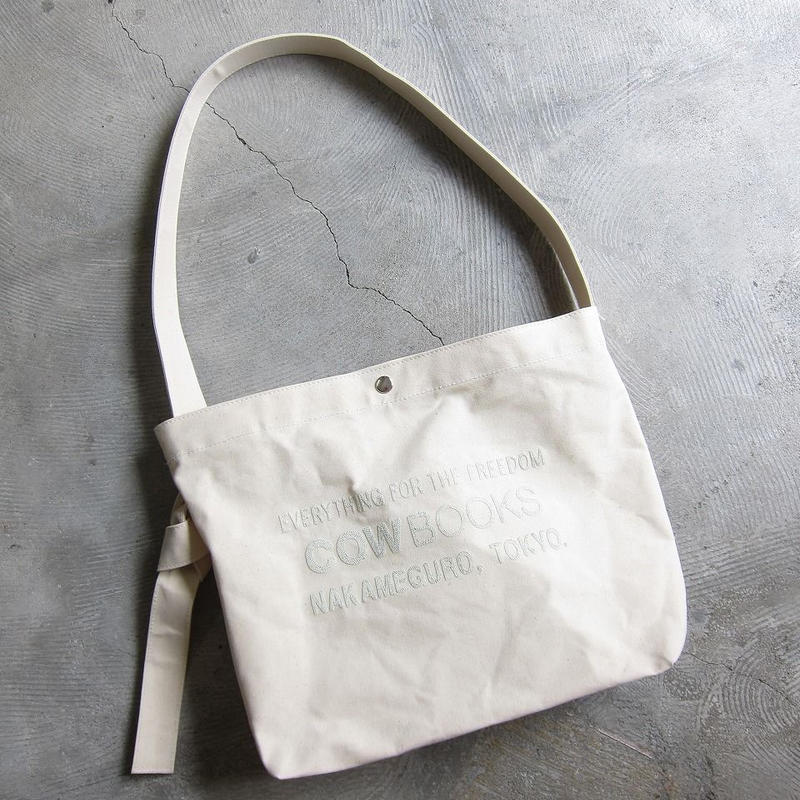 COW BOOKS / カウブックス / Canvas Shoulder Tote