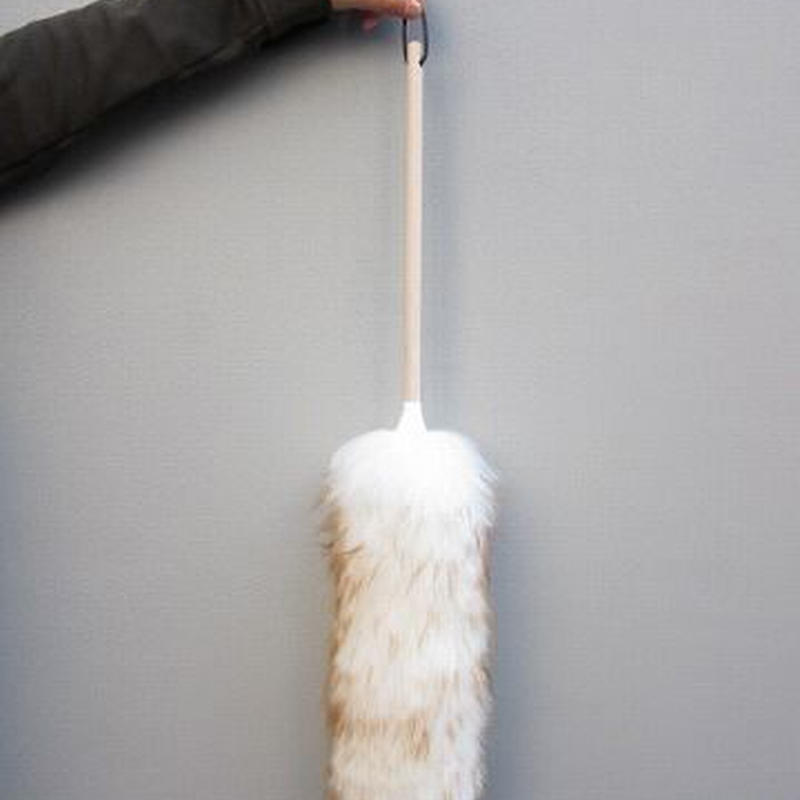 "WOOL SHOP / 24"" Lambswool duster"